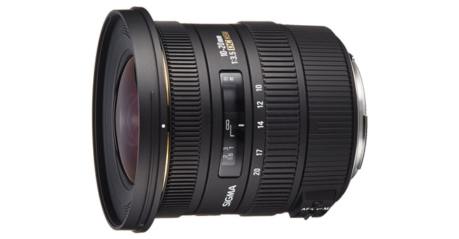Sigma 10-20mm f/3.5 EX DC HSM ELD SLD - Best Sigma Lenses For Canon