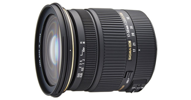 Sigma 17-50mm f/2.8 EX DC OS HSM - Best Sigma Lenses For Canon