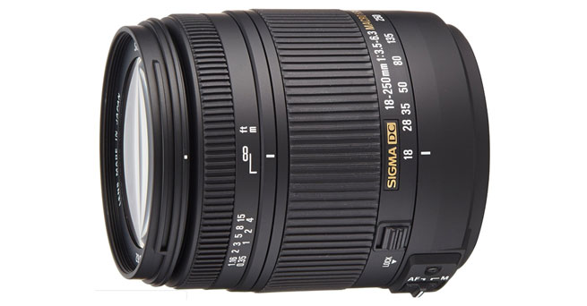 Sigma 18-250mm f3.5-6.3 DC MACRO OS HSM for Canon Digital SLR Cameras - Best Sigma Lenses For Canon