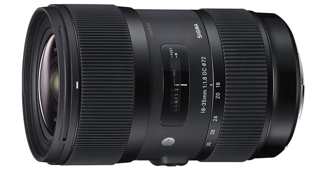Sigma 18-35mm F1.8 Art DC HSM Lens for Canon - Best Sigma Lenses For Canon