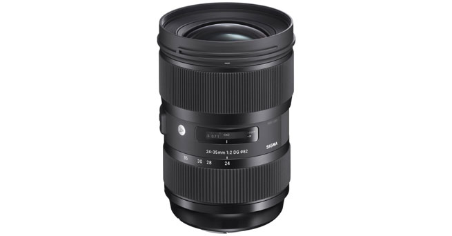 Sigma 24-35mm F2.0 Art DG HSM Lens for Canon - Best Sigma Lenses For Canon